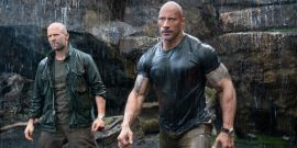 Dwayne Johnson Took His Family To Universal Studios, And There's Adorable Photos
