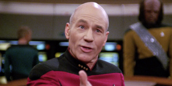 Star Trek's Patrick Stewart Shares Behind-The-Scenes Pic From His New Captain Pi...