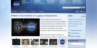 NASA.gov Website