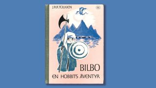 Tove Jansson's cover design for the Hobbit.