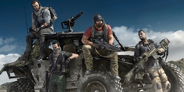 Soldiers on ATV Ghost Recon Wildlands