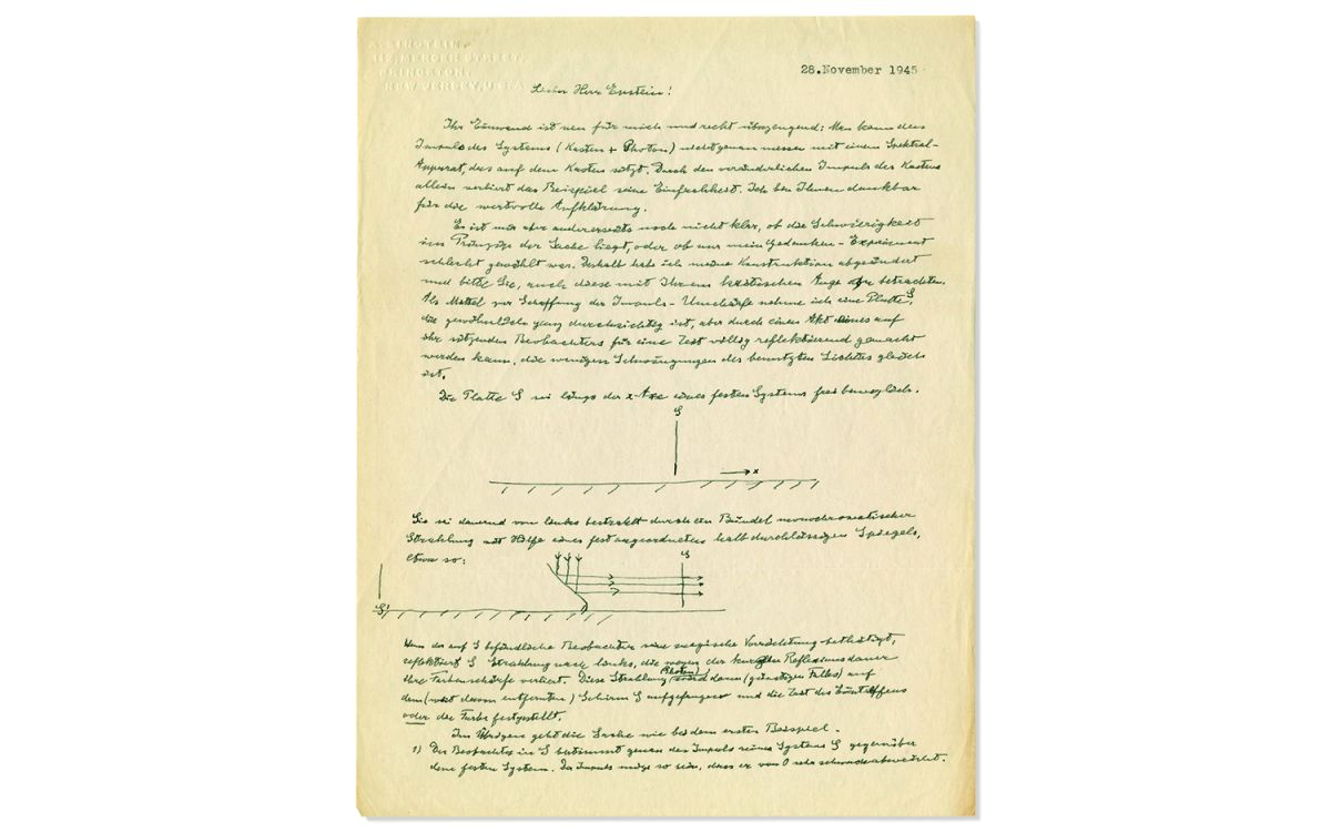 'God Plays Dice with the Universe,' Einstein Writes in Letter About His Qualms with Quantum Theory
