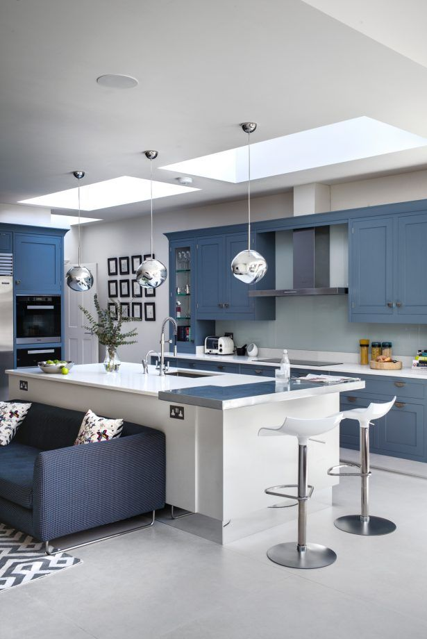Blue Kitchen Ideas Powder Blue Navy Blue Dark Kitchen Inspiration