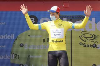 Volta a la Comunitat Valenciana 2021 - 72nd Edition -4th stage Xilxes - Playa Almenara 14,3 km - 17/04/2021 - Stefan Kung (SUI - Groupama - FDJ) - photo Luis Angel Gomez/BettiniPhoto©2021