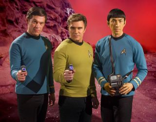 The Big Three Characters of 'Star Trek Continues'