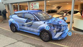 Toyota AR experience