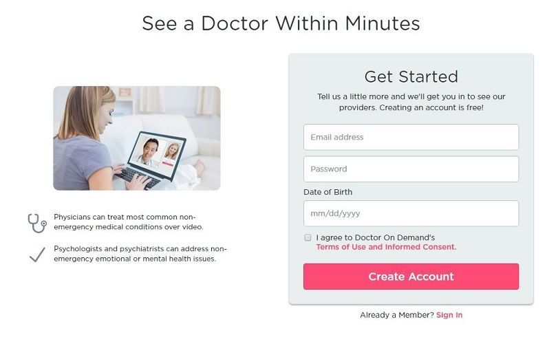 Doctor on Demand Review - Pros, Cons and Verdict | Top Ten