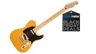 Save $150 on a Classic Butterscotch Blonde Fender Tele for Black Friday
