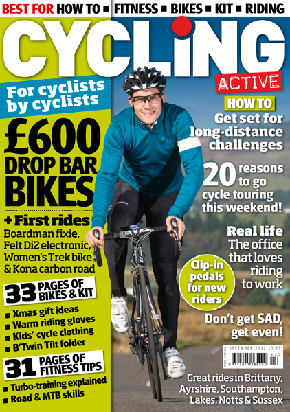 Cycling Active December 2012 issue