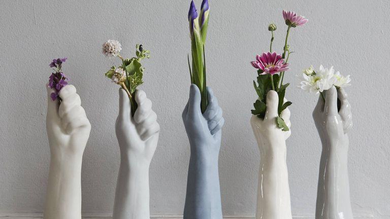 International Women's Day buys: BelginBozsahinArt White Porcelain Vase