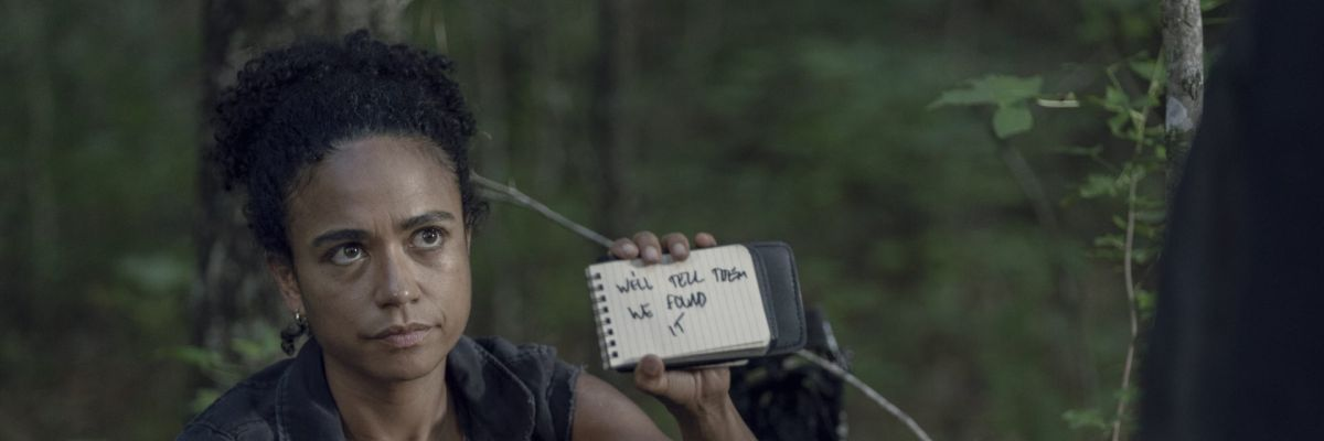 Lauren Ridloff in The Walking Dead