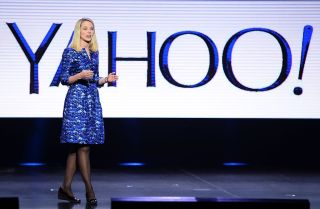 Yahoo! President and CEO Marissa Mayer delivers a keynote address at the 2014 International CES at The Las Vegas Hotel & Casino on January 7, 2014 in Las Vegas, Nevada.