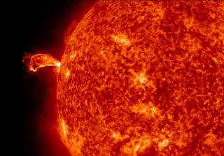 Solar Flare of April 16, 2012