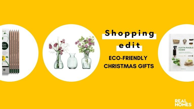 Eco friendly Christmas gifts: Plantable pencils, recyclable vases and sustainability book