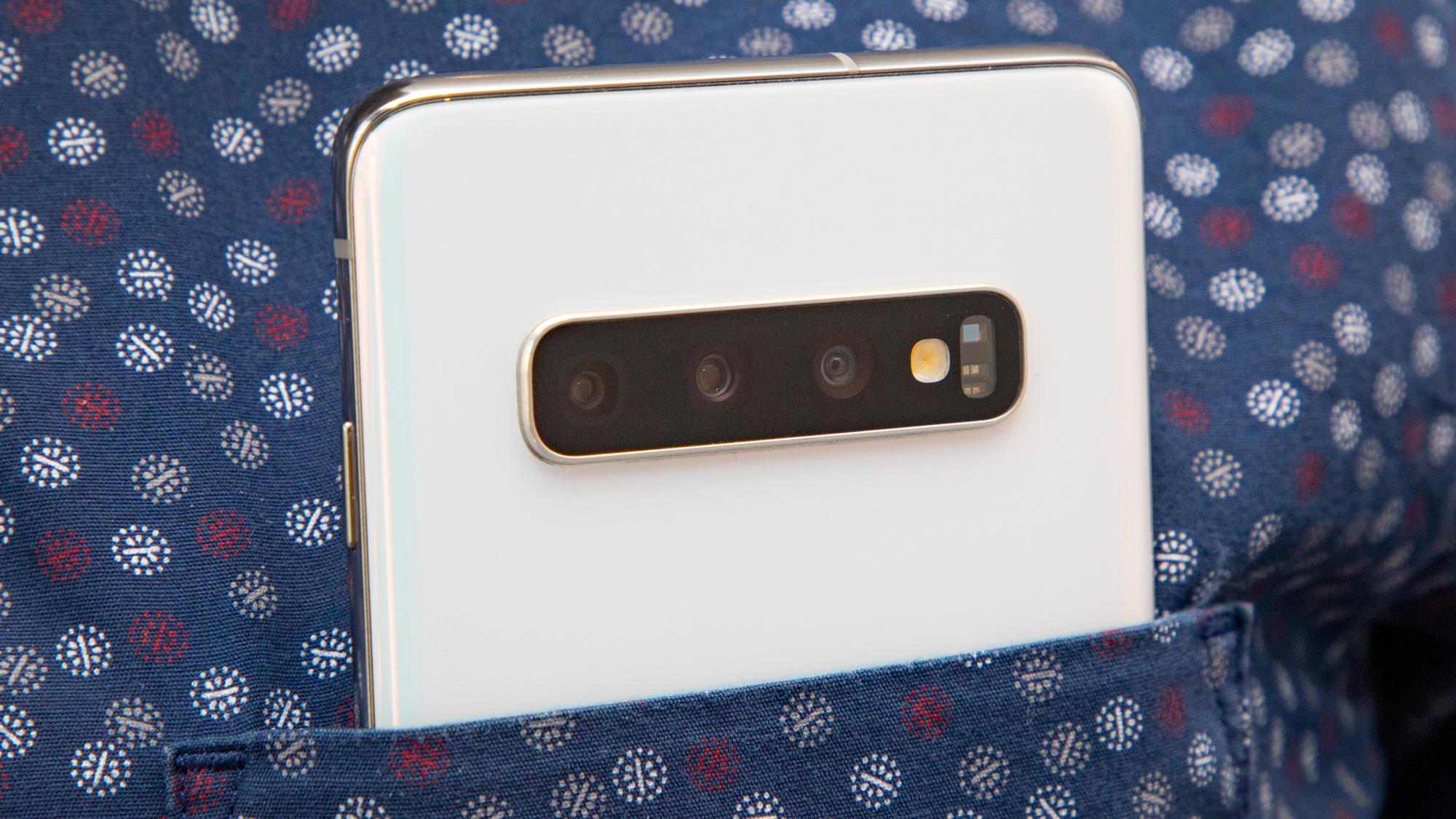 Samsung Galaxy S10 cameras