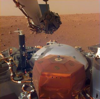 InSight lander heat mole instrument