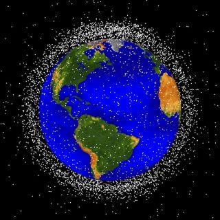 Space Debris in Low-Earth Orbit