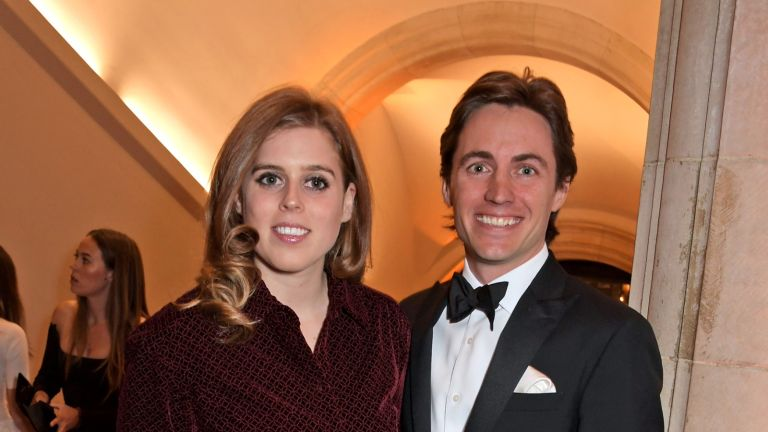 LONDON, ENGLAND - MARCH 12: Princess Beatrice of York and Edoardo Mapelli Mozzi attend The Portrait Gala 2019 hosted by Dr Nicholas Cullinan and Edward Enninful to raise funds for the National Portrait Gallery's 'Inspiring People' project at the National Portrait Gallery on March 12, 2019 in London, England. (Photo by David M. Benett/Dave Benett/Getty Images)