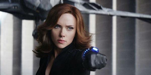 Scarlett Johansson Black Widow Civil War