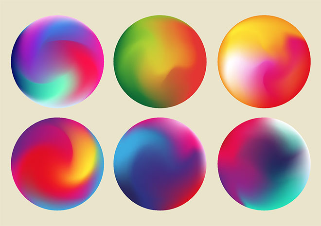 Illustrator tutorials: gradient orbs