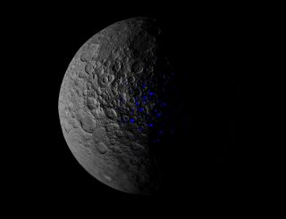 Ceres' northern hemisphere
