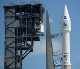 OSIRIS-REx space probe atop a ULA Atlas V rocket