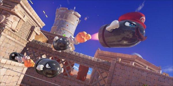 Super Mario Odyssey Isn't As