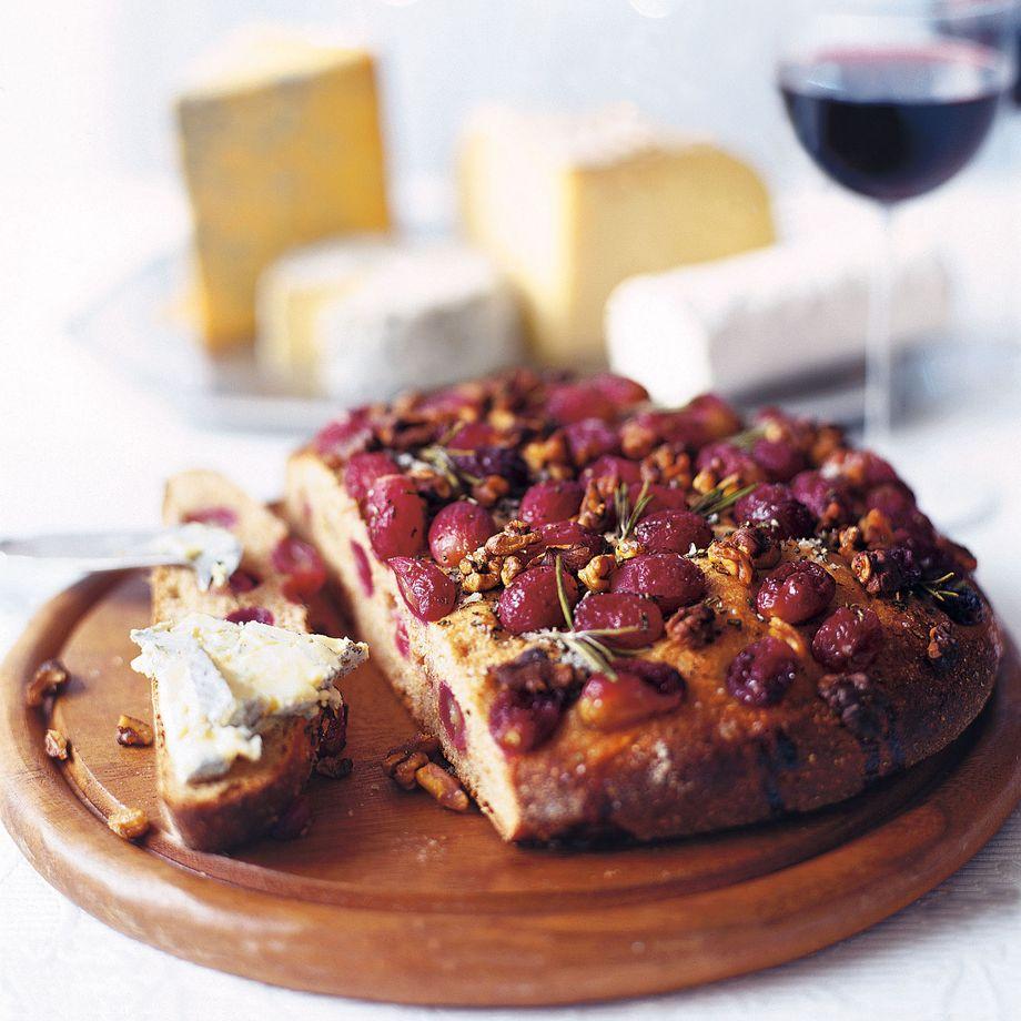 Grape and Walnut Bread Recipe