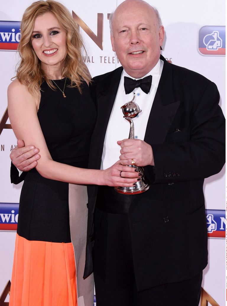Laura Carmicheal and Julian Fellowes