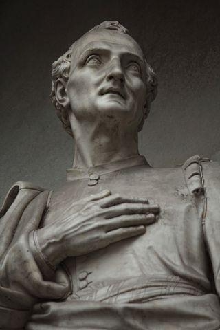 A statue of Amerigo Vespucci