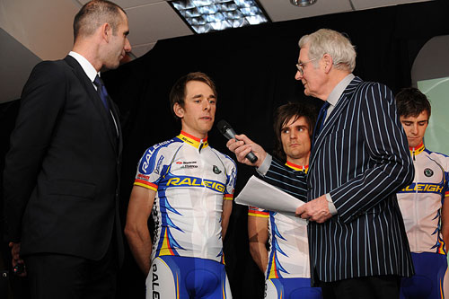 Dan Fleeman interviewed, Team Raleigh launch, January 2010