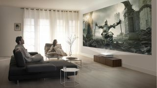 Samsung 'The Premiere': an ultra short throw 4K projector with HDR10+ support