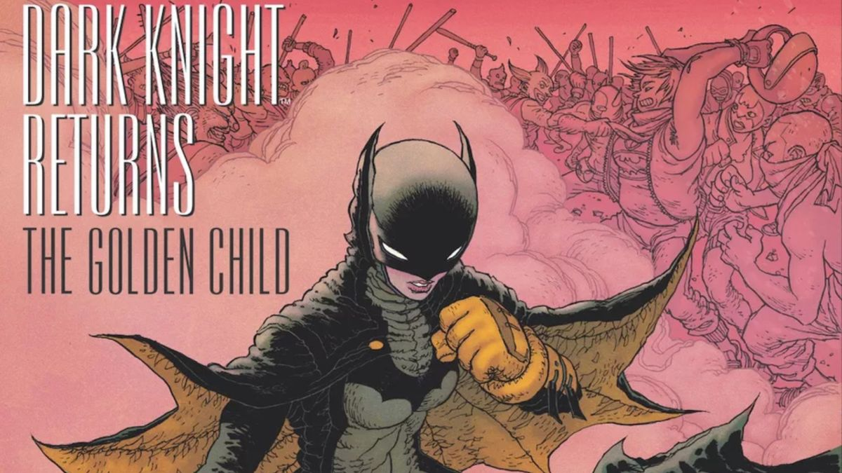 Frank Miller returns to Batman comics with Dark Knight Returns: The Golden Child