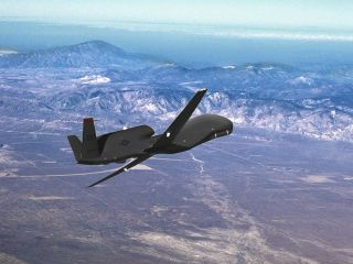 RQ-4 Global Hawk Military Drone