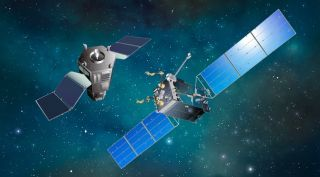 Satellite servicing systems