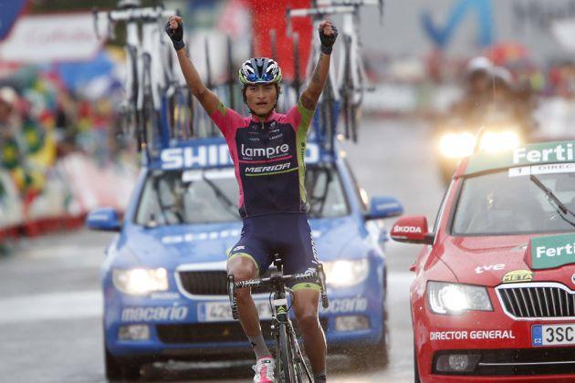 Winner Anaconda wins stage nine of the 2014 Tour of Spain