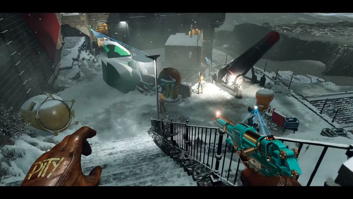 Deathloop gameplay trailer showcases a mission against The Wolf | GamesRadar+