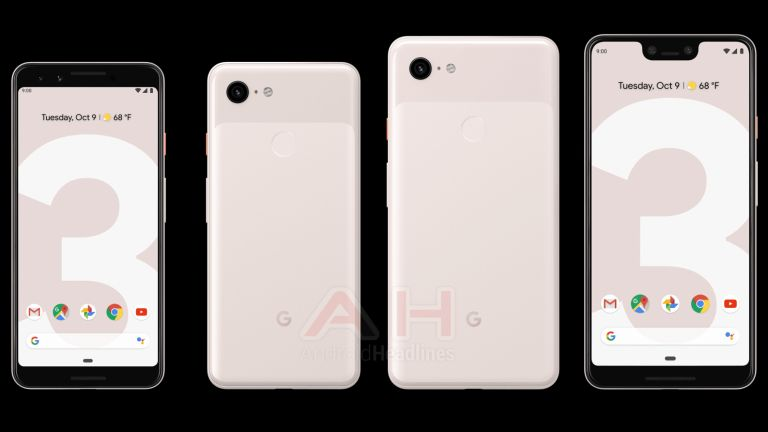 Google Announces the Pixel 3, New Notch, Dual Selfie Cameras, Same Design