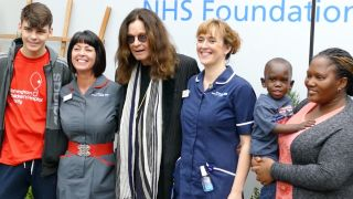 Ozzy at Birmingham Children's Hospital