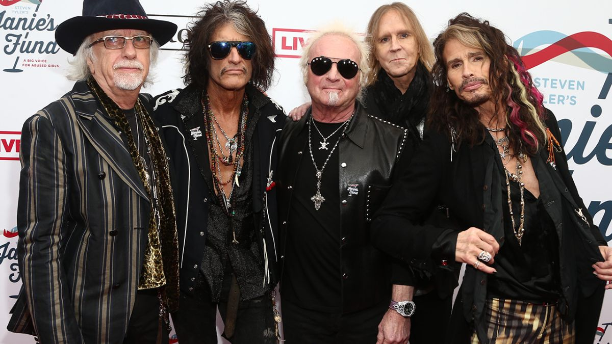 Watch Joey Kramer rejoin his Aerosmith bandmates in Las Vegas