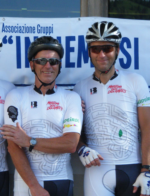 Peter and Paul Sutton, Maratona dles Dolomites 2010