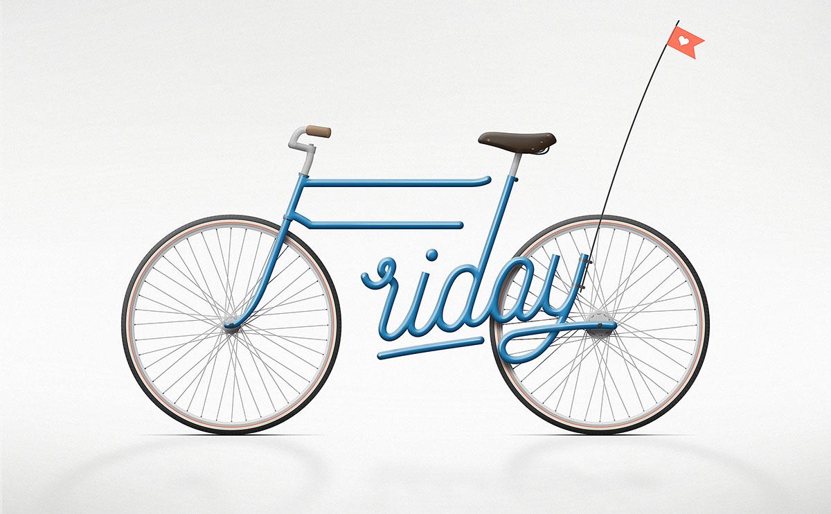 Zaech's Friday bicycle