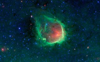 In the Blackest Night, a Green Ring Nebula