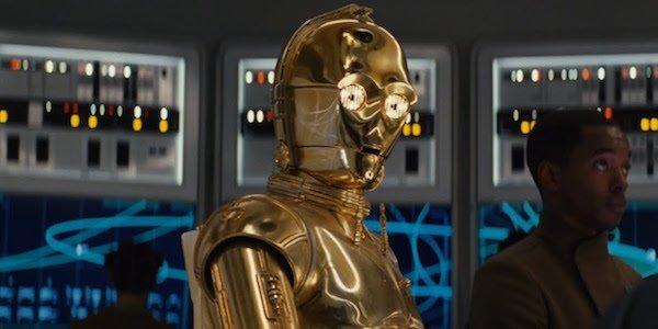 C-3PO in The Last Jedi