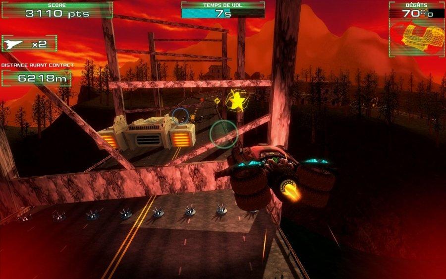Fire And Forget Vehicle Looks Like Batman's Tumbler In New Screenshots #26481