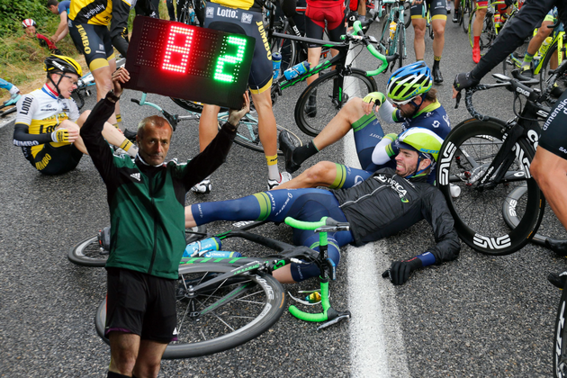 1cecb315f Should substitutions be allowed in the Tour de France  The Movistar team  boss thinks so