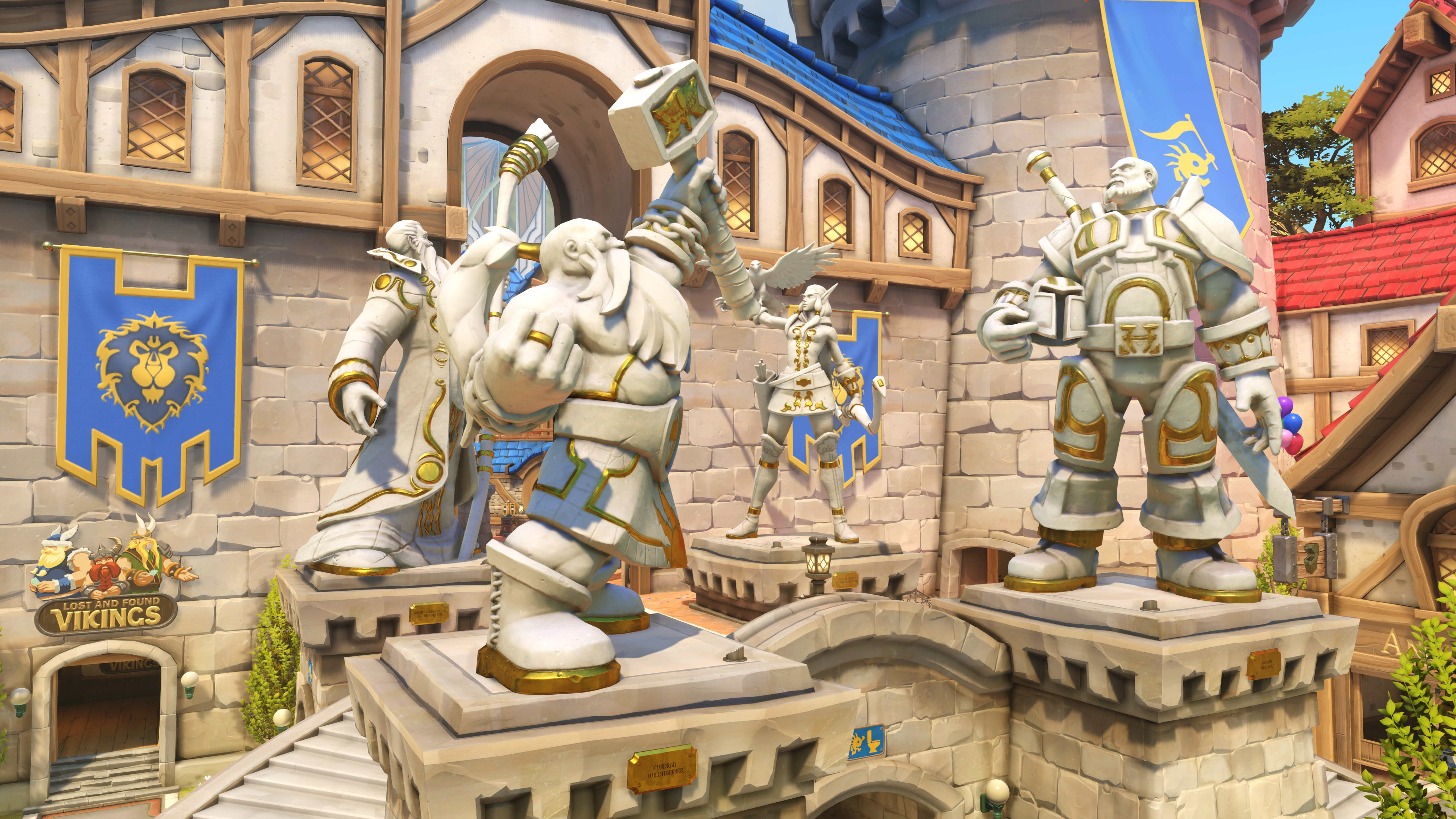 Blizzard World Is Now Playable On The Overwatch Ptr Pc Gamer