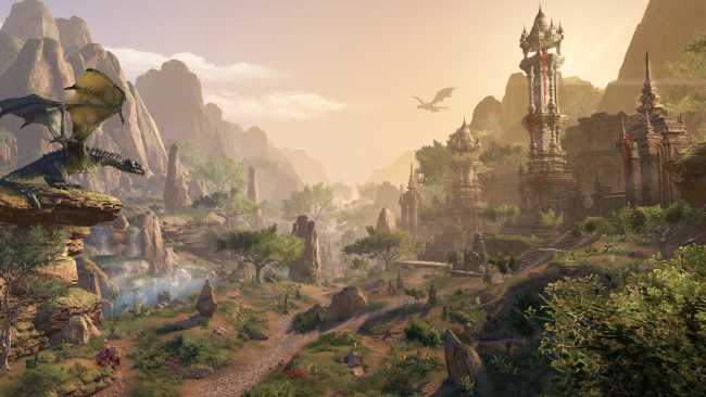 Finally explore Elsweyr, the Khajiit homeland, in The Elder Scrolls Online's New Chapter