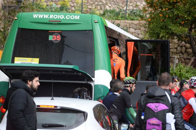 Broom wagon, Challenge Mallorca 2015