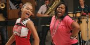 Glee's Amber Riley Honors Naya Rivera With Emotional Performance on Jimmy Kimmel Live
